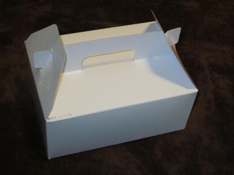 シュークリーム外箱